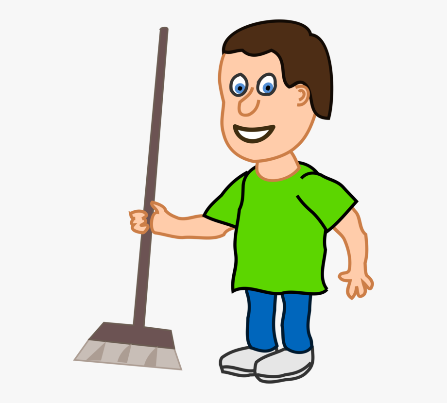 Cleaning Drawing Boy.