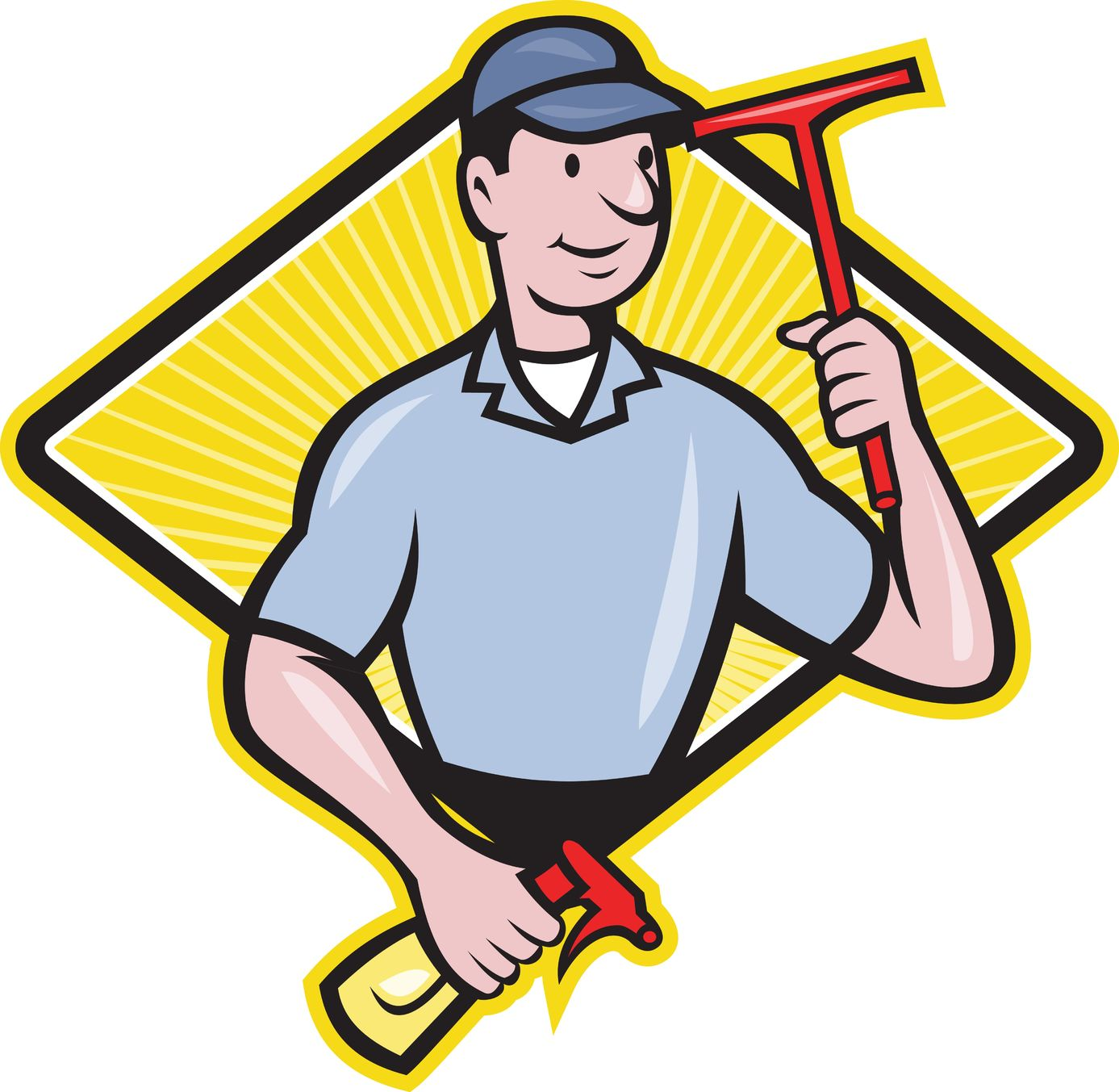 Window Cleaning Sco clipart free image.