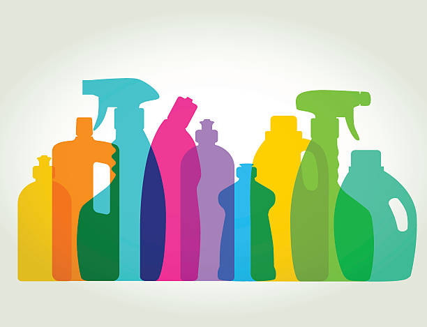 Cleaning Products Clip Art, Vector Images & Illustrations.