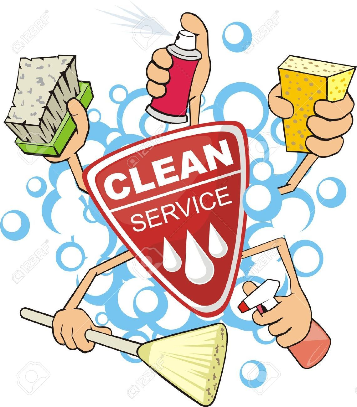 Cleaning services clipart 1 » Clipart Portal.