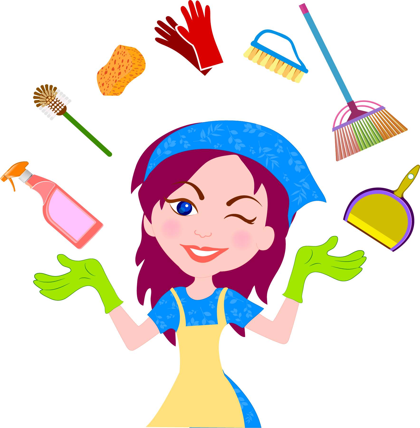 Download Cleaner Housekeeping Service House Maid Cleaning Clean.