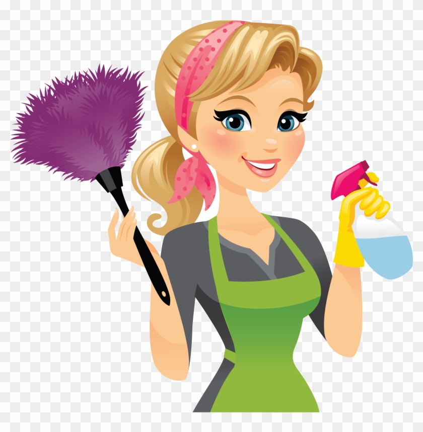 Cleaner Maid Service Cleaning Clip Art.