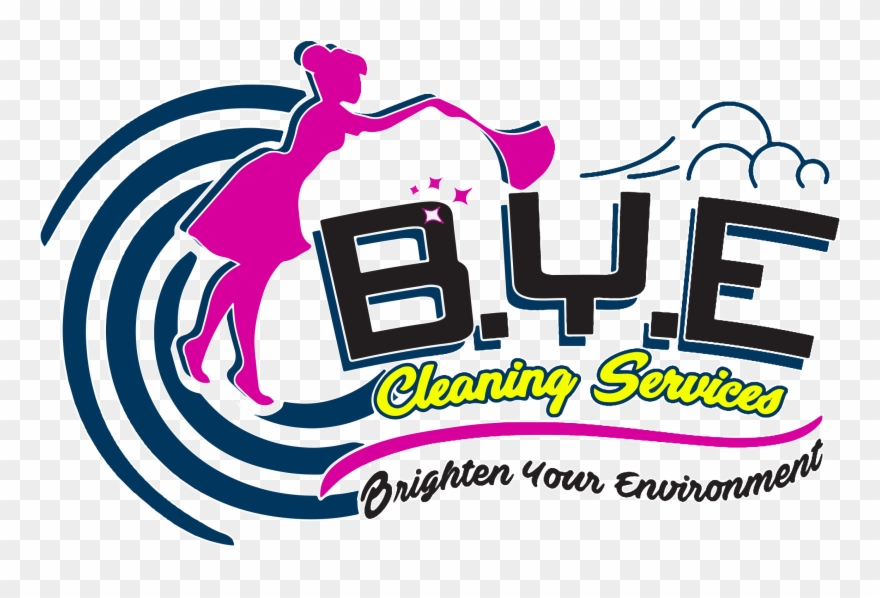 Brighten Your Environment With Bye Cleaning Services Clipart.