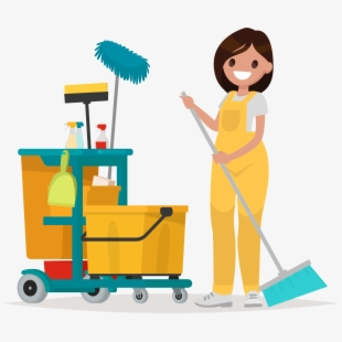 Cleaning Cartoon Png , Transparent Cartoon, Free Cliparts.
