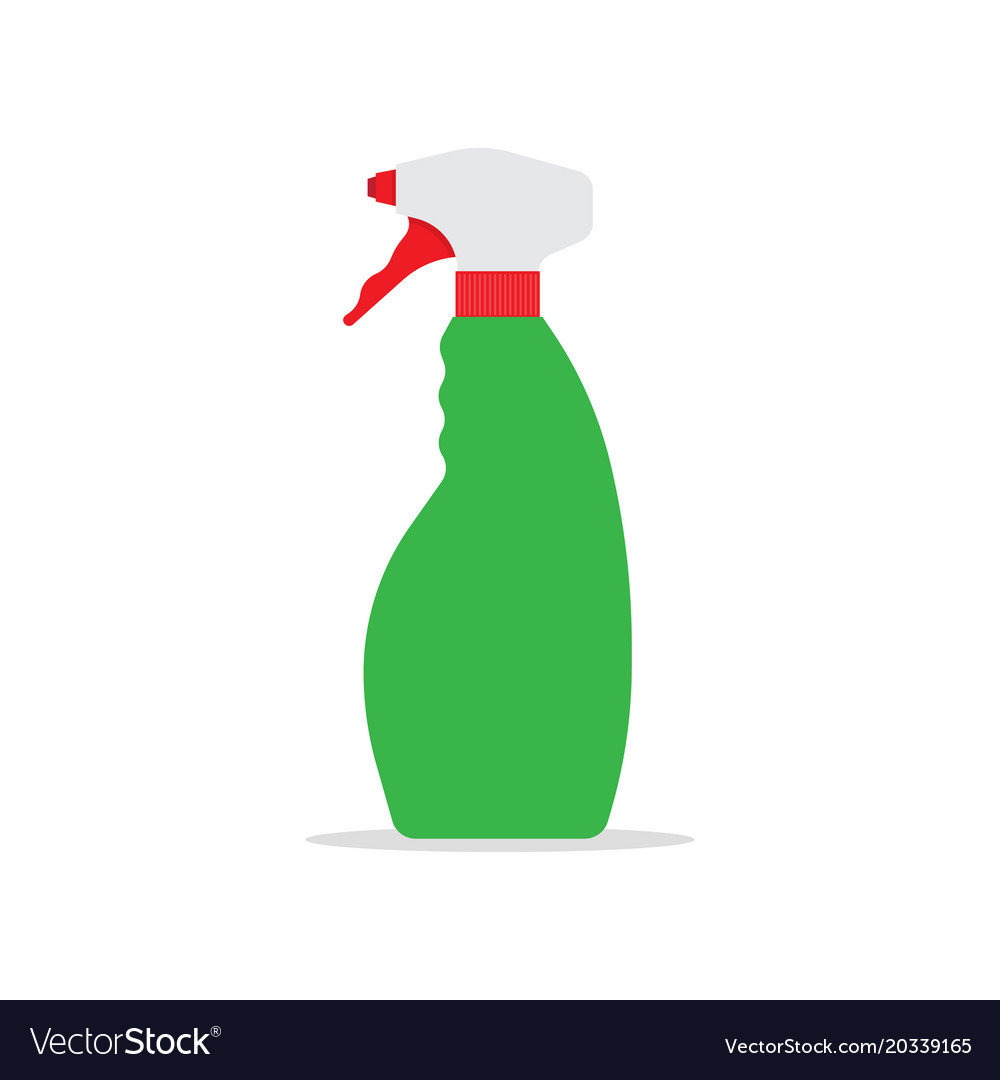 Cleaning spray bottle icon.