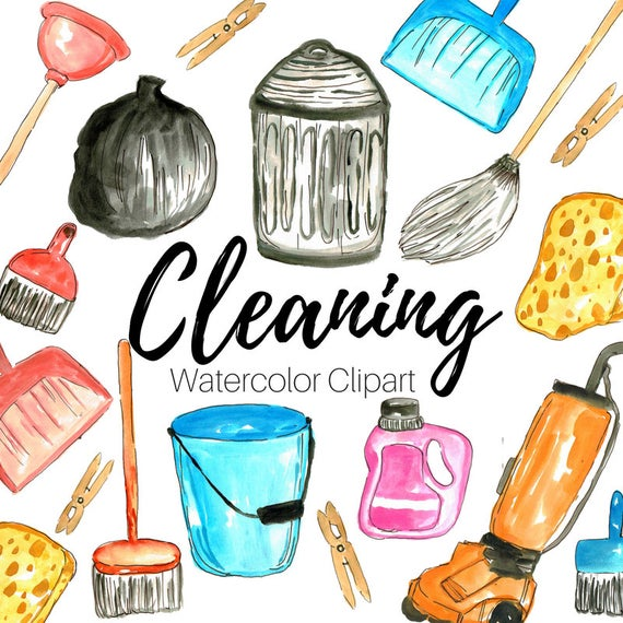 Cleaning Clip Art.