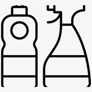Cleaning Products Clipart , Transparent Cartoon, Free.