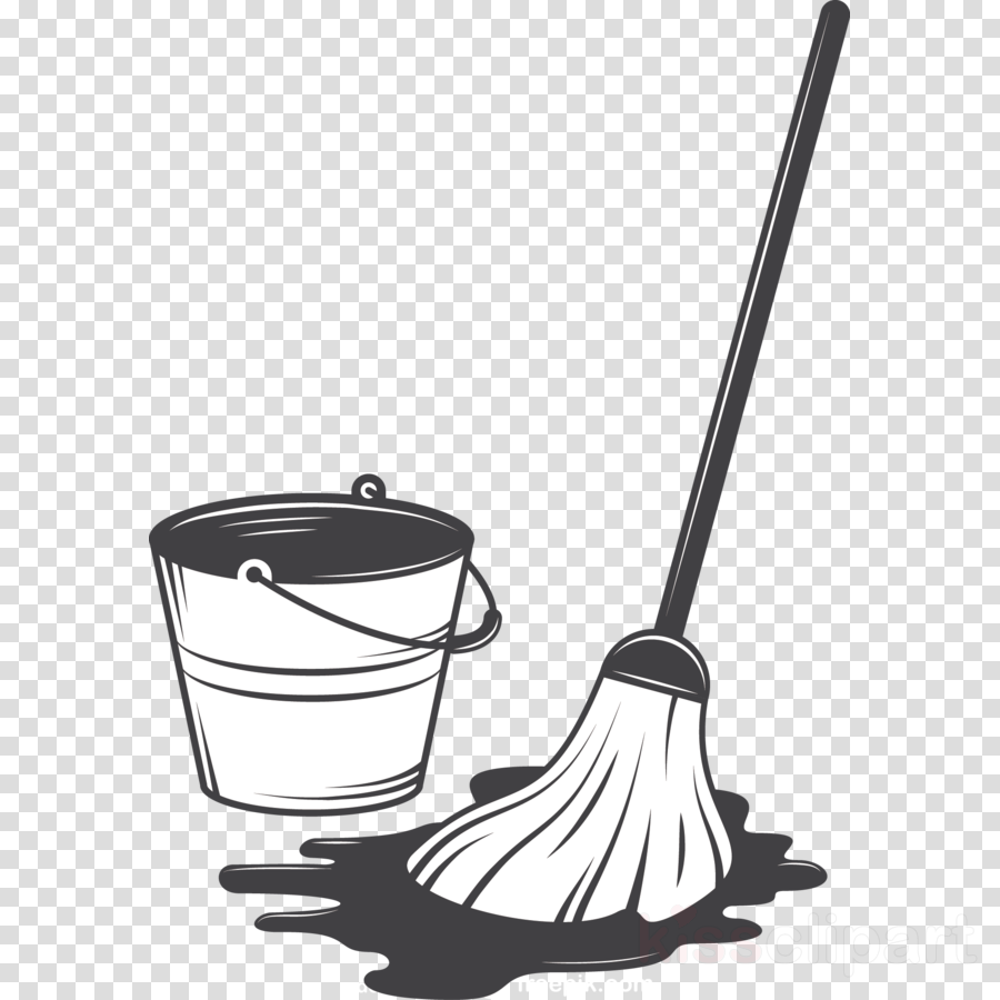 broom tool household cleaning supply clip art household.