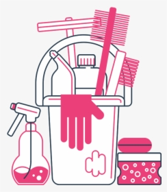 Cleaning Supplies PNG Images, Free Transparent Cleaning.