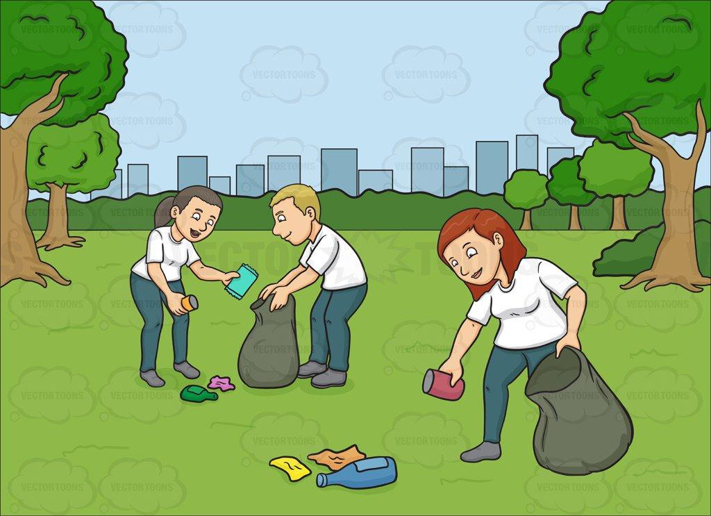 Clean Park Clipart.