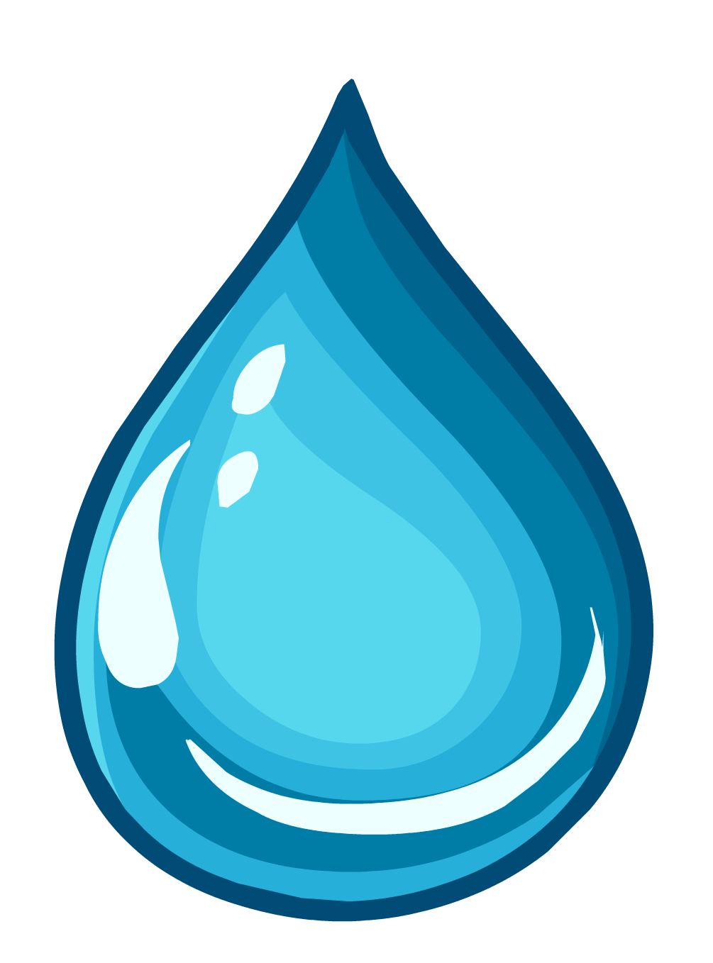 Clean Water Pin.