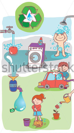 Different Uses Of Water Clipart.