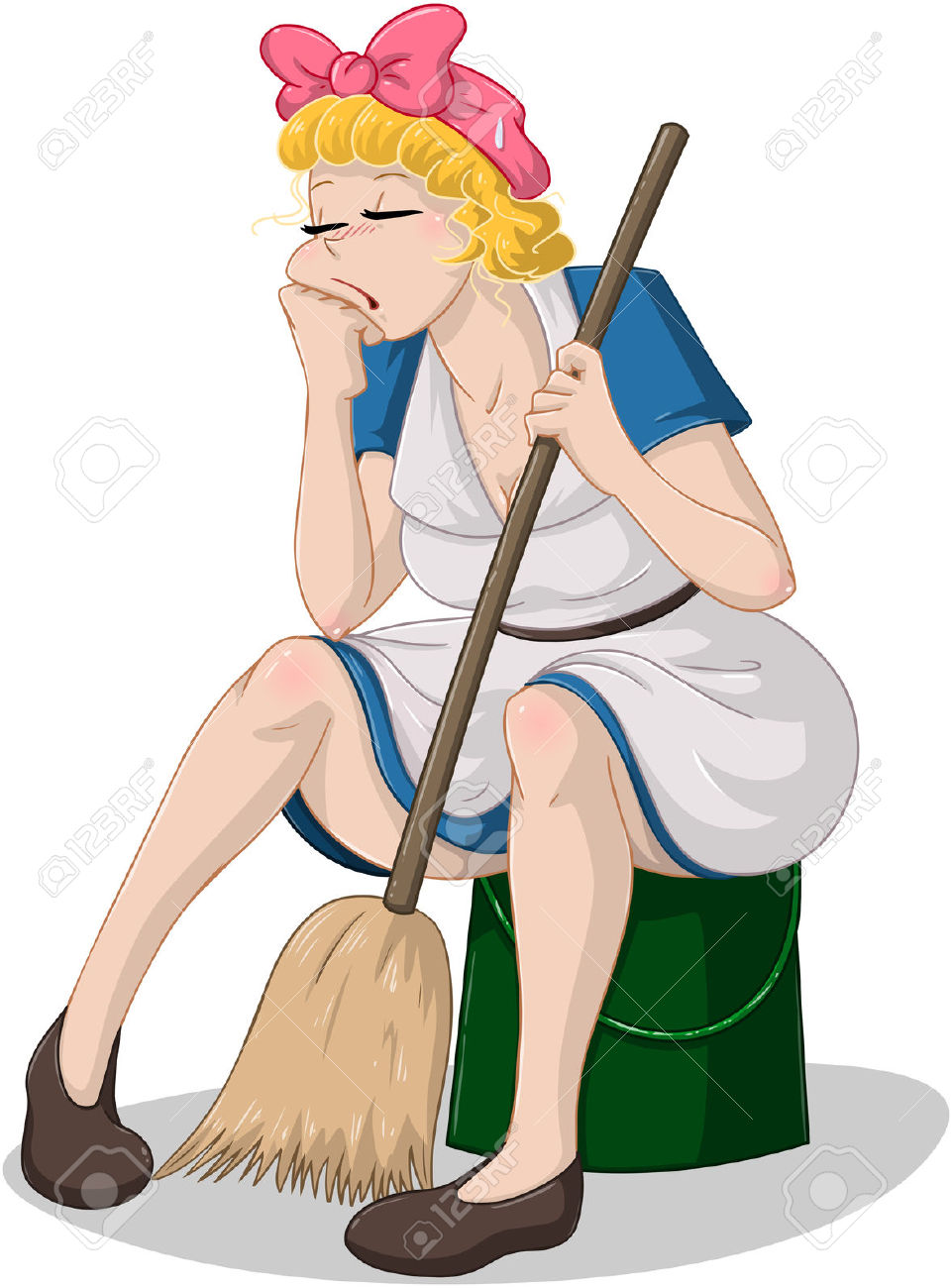 3,428 Cleaning Woman Cliparts, Stock Vector And Royalty Free.