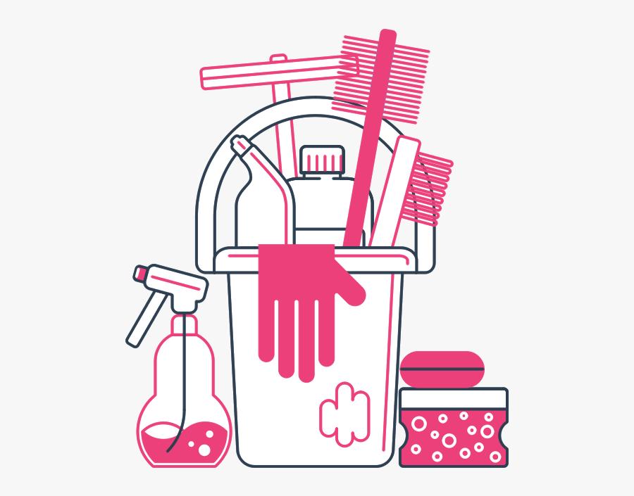 Clip Art Clip Art Cleaning Supplies.
