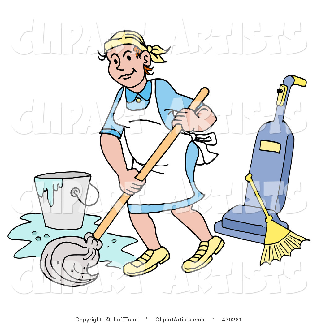 Cleaning And Repair Clipart.
