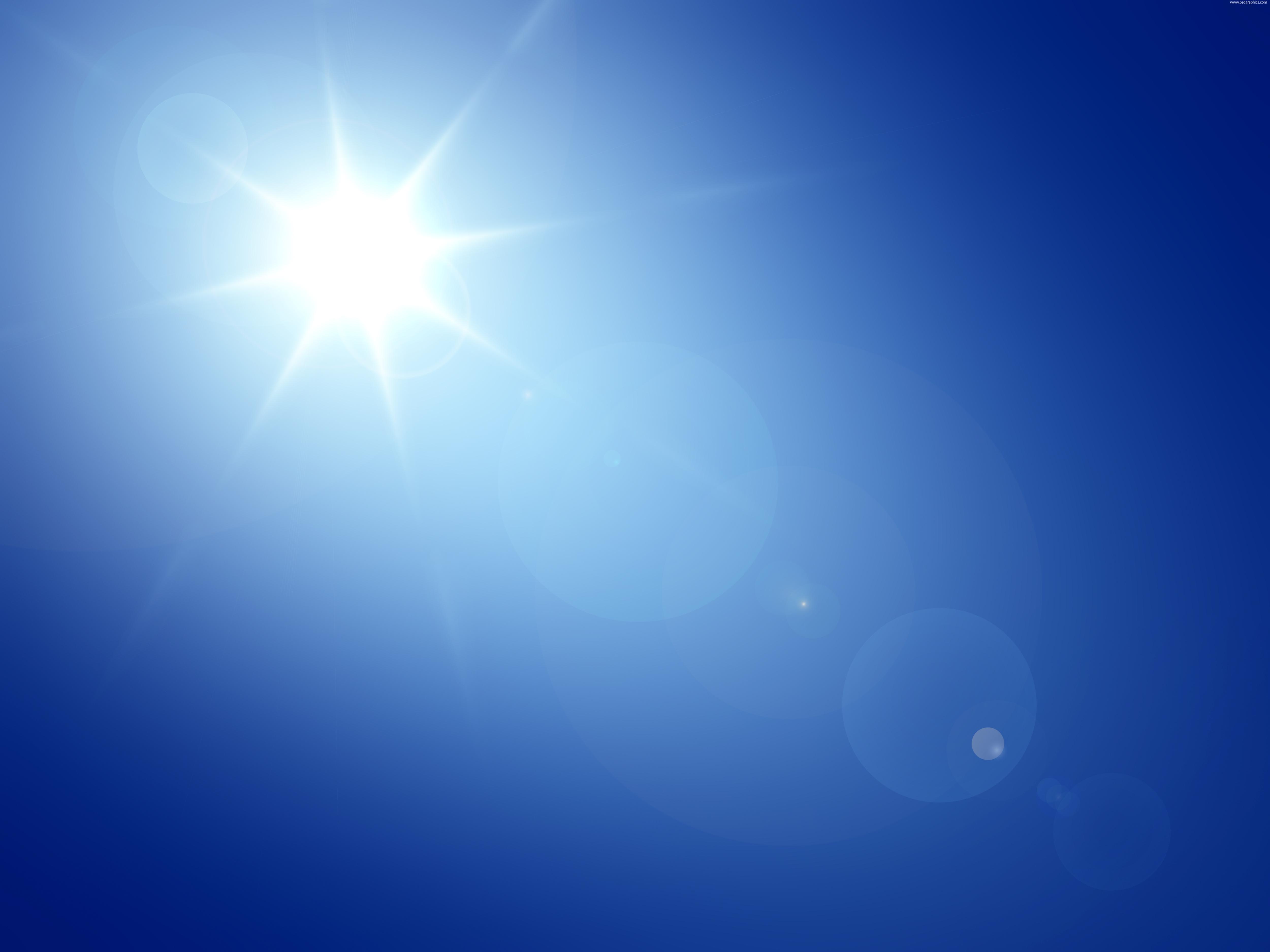 Sun Clear Skies Clipart.