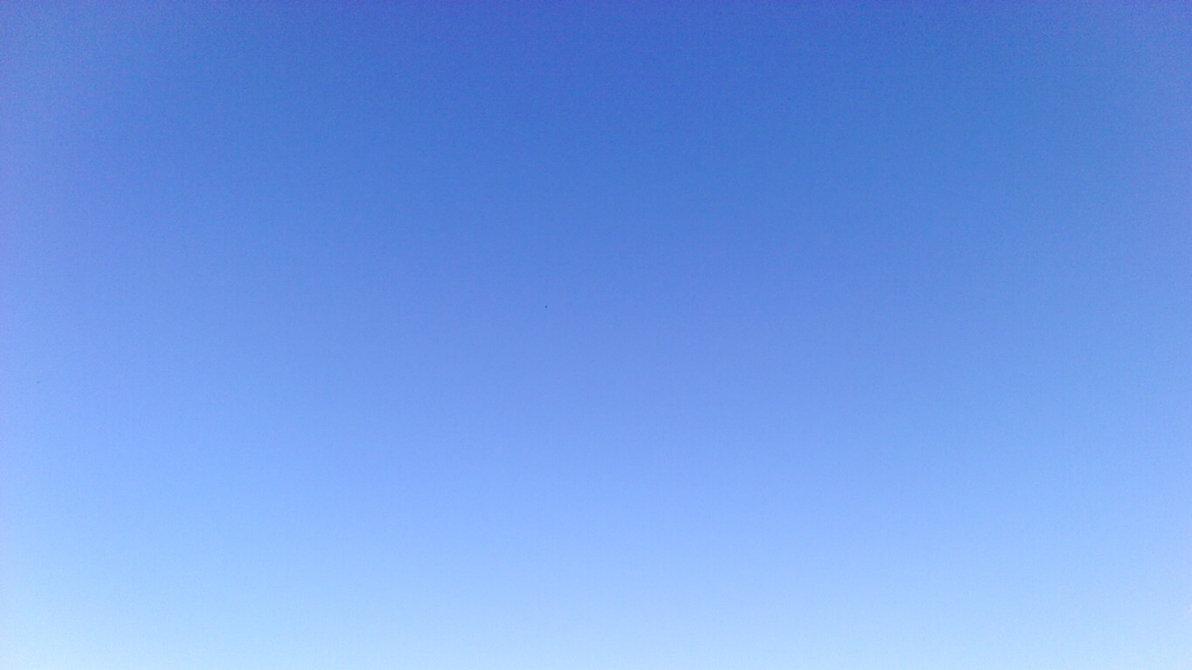 Clear blue sky clipart.