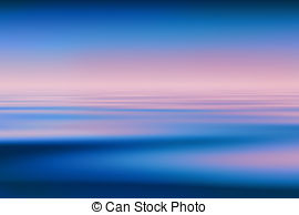 Water horizon clear blue sky background Illustrations and Stock.