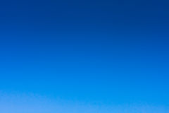 Clear Blue Sky Royalty Free Stock Photo.