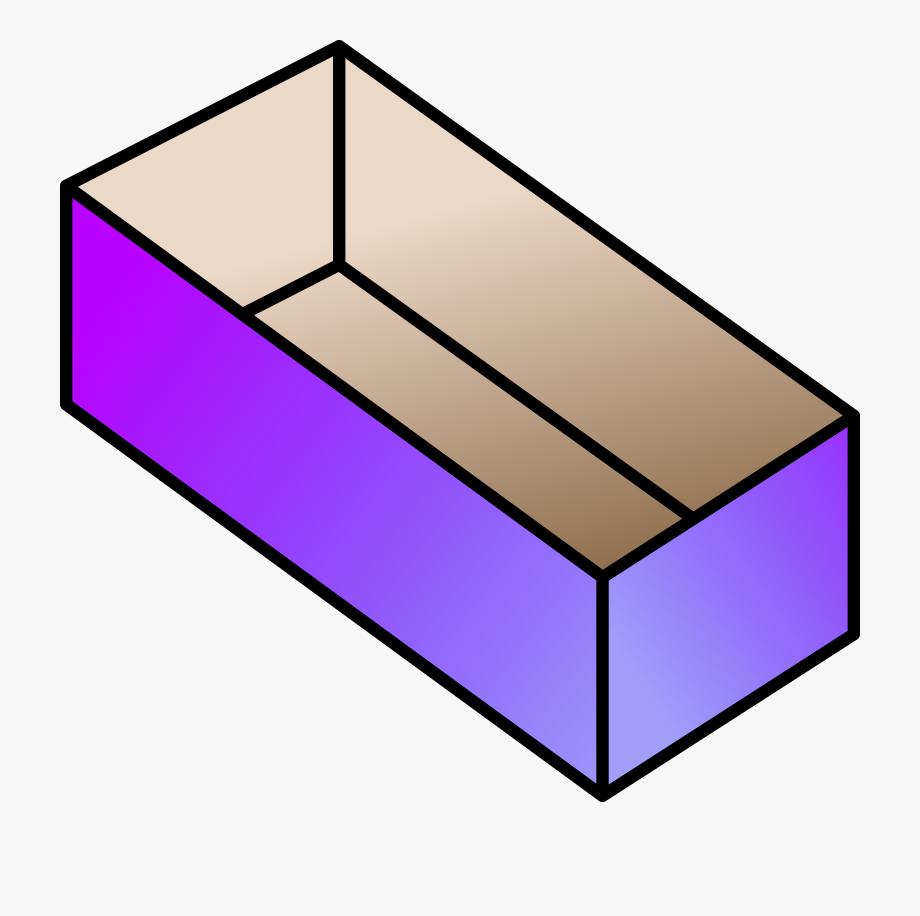 Clipart Box Rectangular Box.