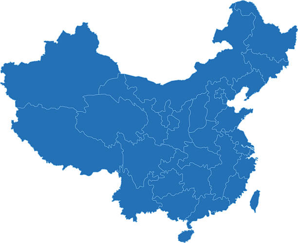 China Map Clip Art, Vector Images & Illustrations.