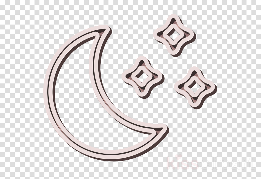 clear icon moon icon night icon clipart.
