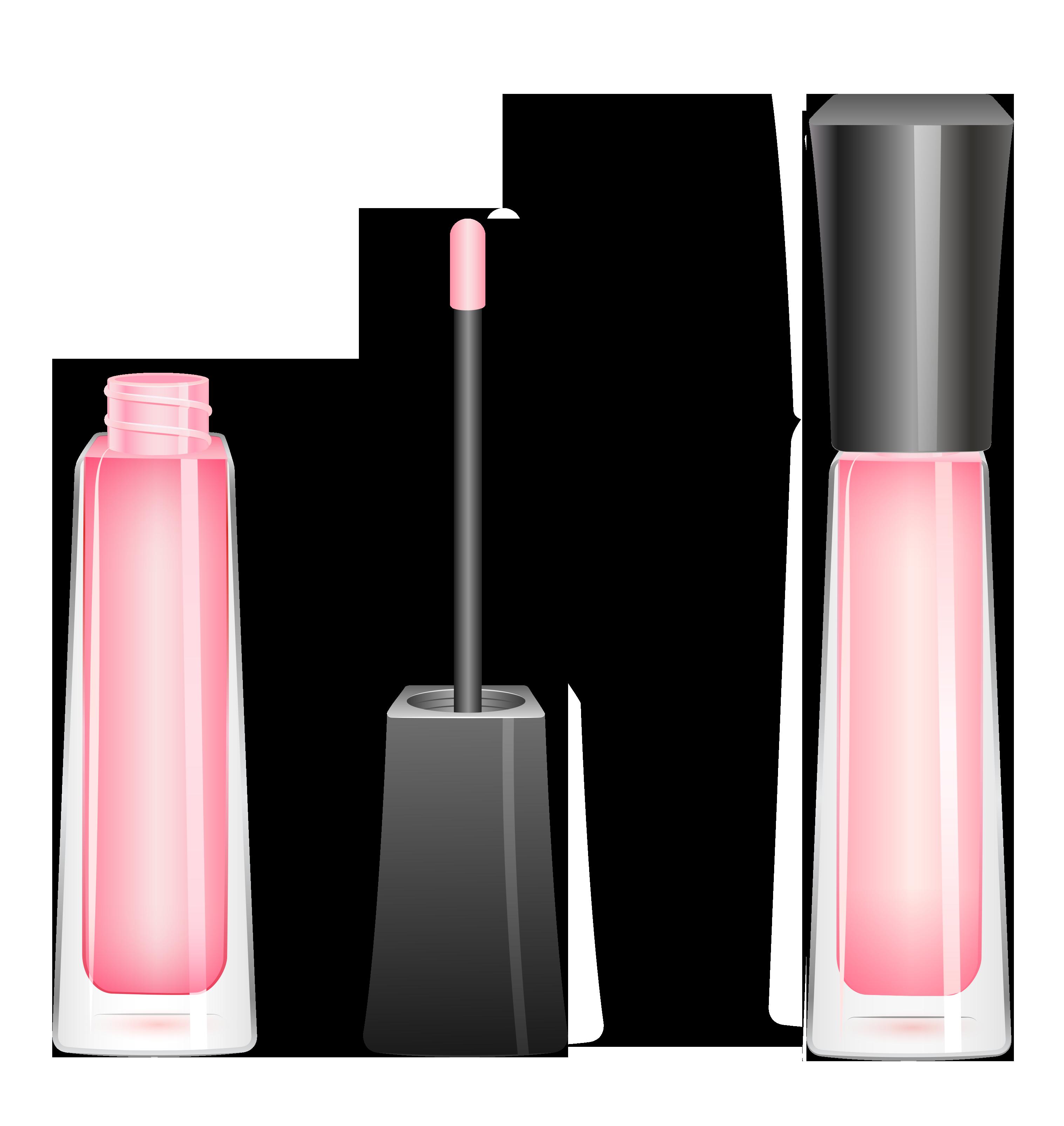 Makeup clipart lip gloss, Makeup lip gloss Transparent FREE.