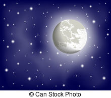 Clear night Vector Clipart Royalty Free. 2,271 Clear night clip.