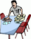 Clear Table Clipart.
