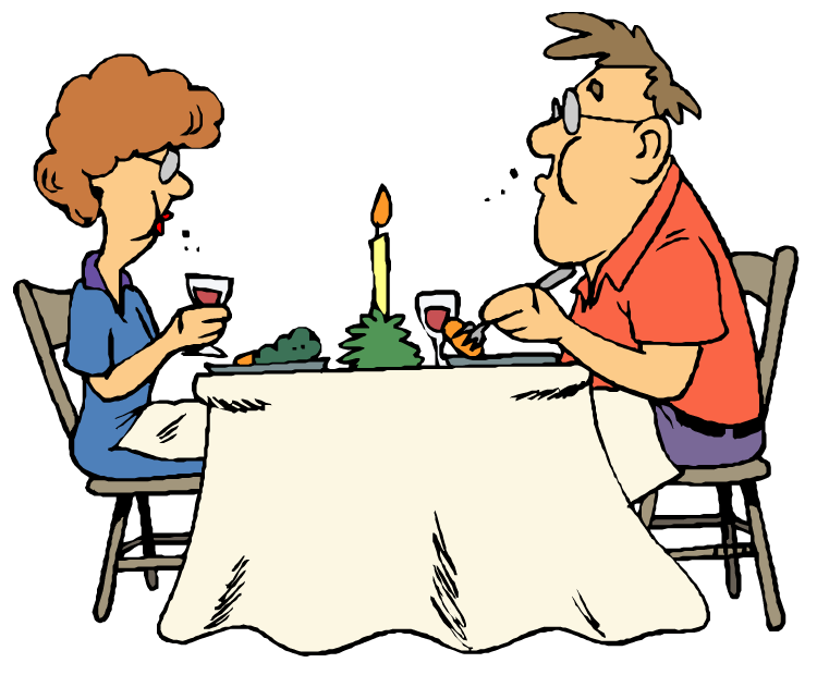 Clear Dinner Table Clipart.