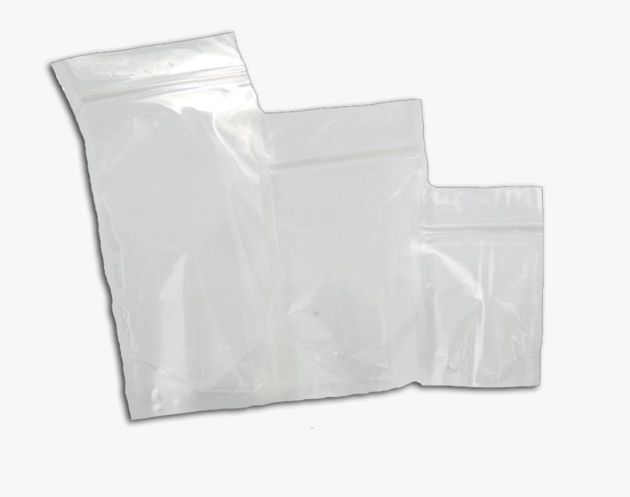 Clear Plastic Bag Png.