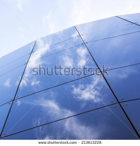Glass Facade Stock Photos, Royalty.