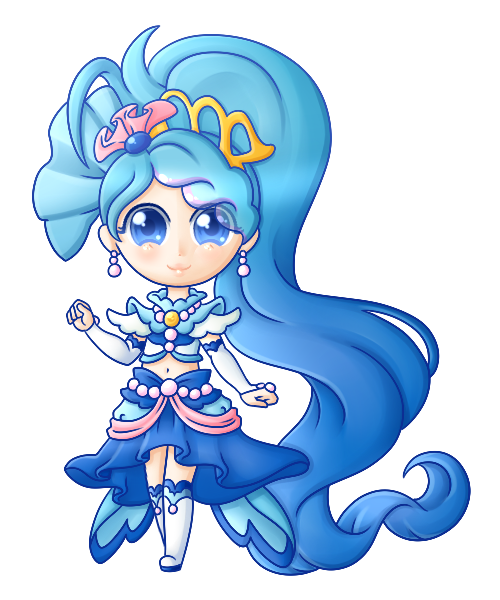 Princess of the Crystal Clear Seas: Cure Mermaid! by Snow.