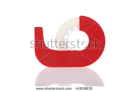 Clear Tape Stock Images, Royalty.