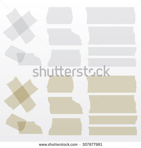 Transparent Tape Stock Images, Royalty.