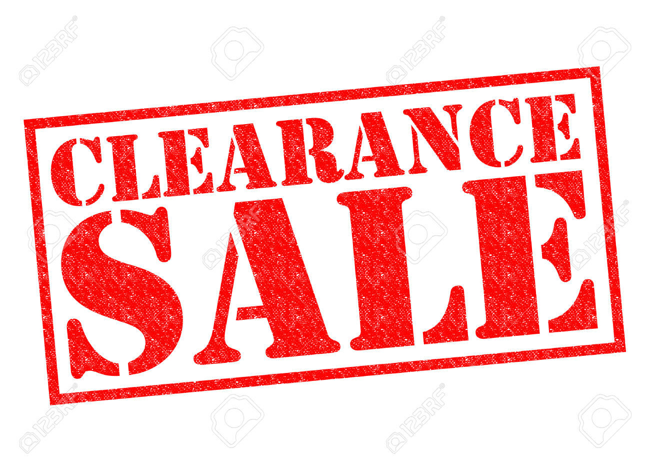 Clearance clipart clipground for Clearance craft supplies sale