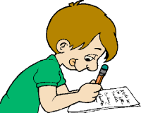 I can write clipart.