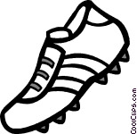Cleats Clipart.