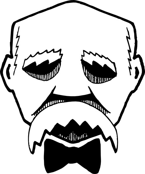 Georges Clemenceau clip art Free vector in Open office drawing svg.