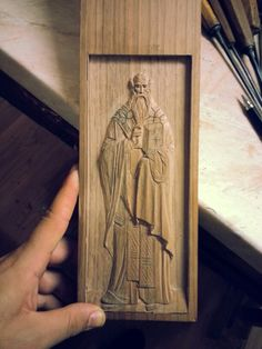 grapevine wood carving.