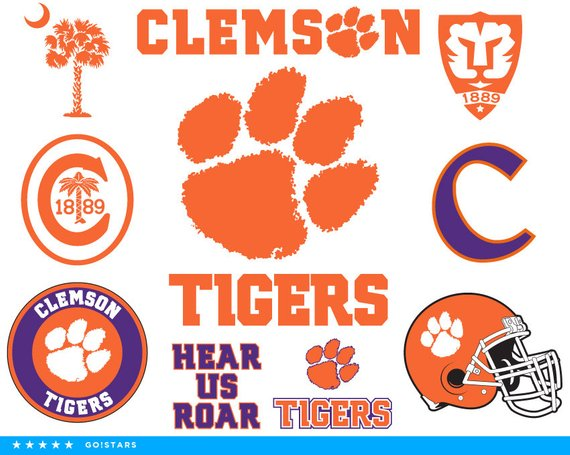 Clemson tigers clipart 6 » Clipart Station.