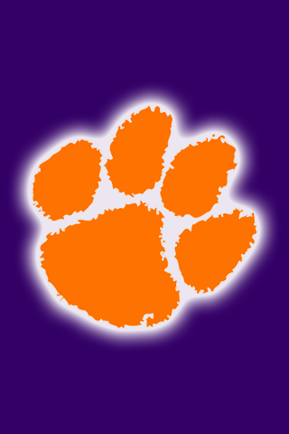 Free Clemson Tigers iPhone & iPod Touch Wallpapers.