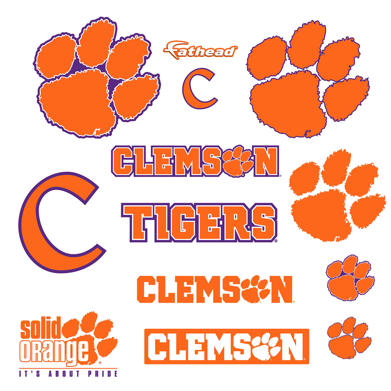 Clemson Tigers: Logo Assortment.