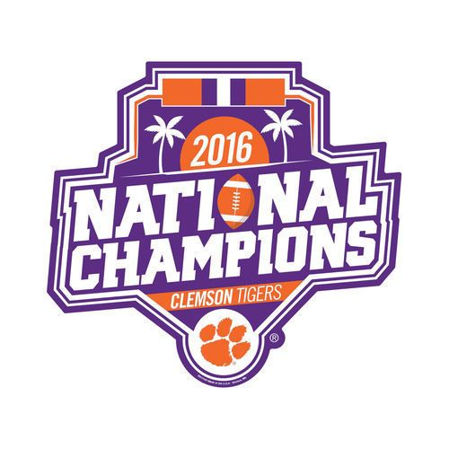 Details about Clemson Tigers 2016 Champions RCO 4\