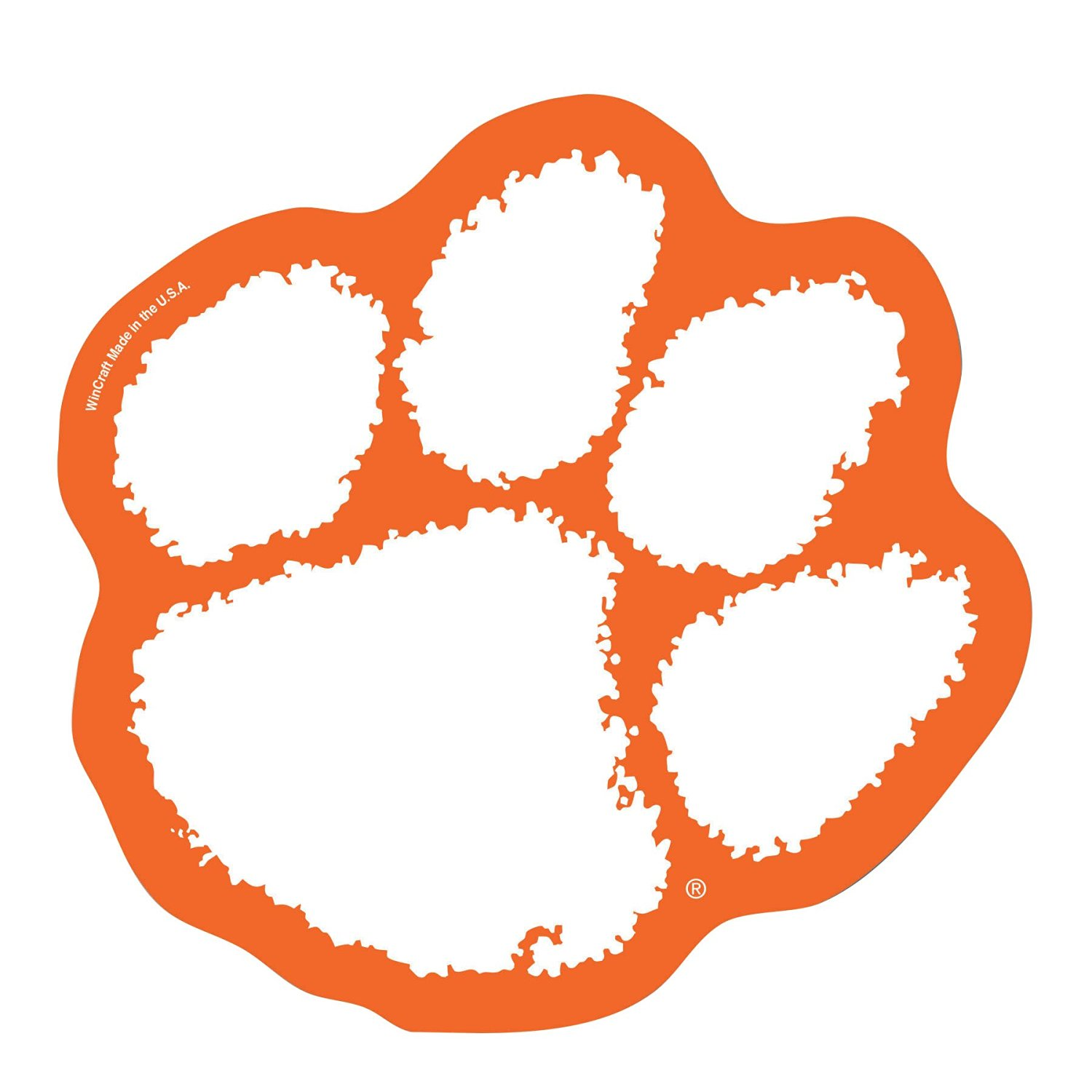 NCAA Clemson Tigers Logo on the GoGo.