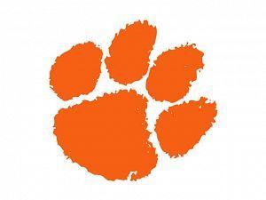 Clemson Tiger Paw Image Free.