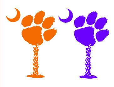 Clemson Paw Pictures.