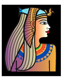 Cleopatra Clipart.