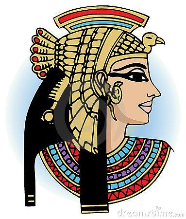 Cleopatra Stock Illustrations.