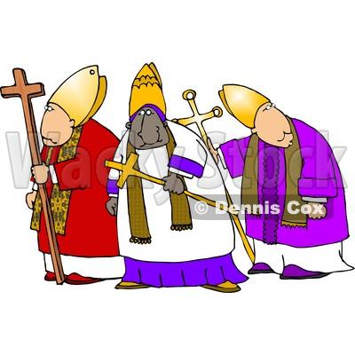 Clergy Clipart.